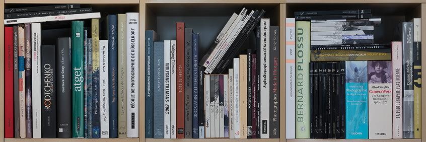 divers livres sur la photographie