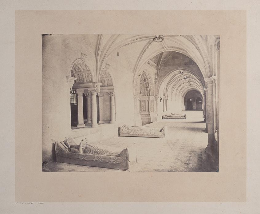 Photographie de Joseph Le Roch à Fontevraud