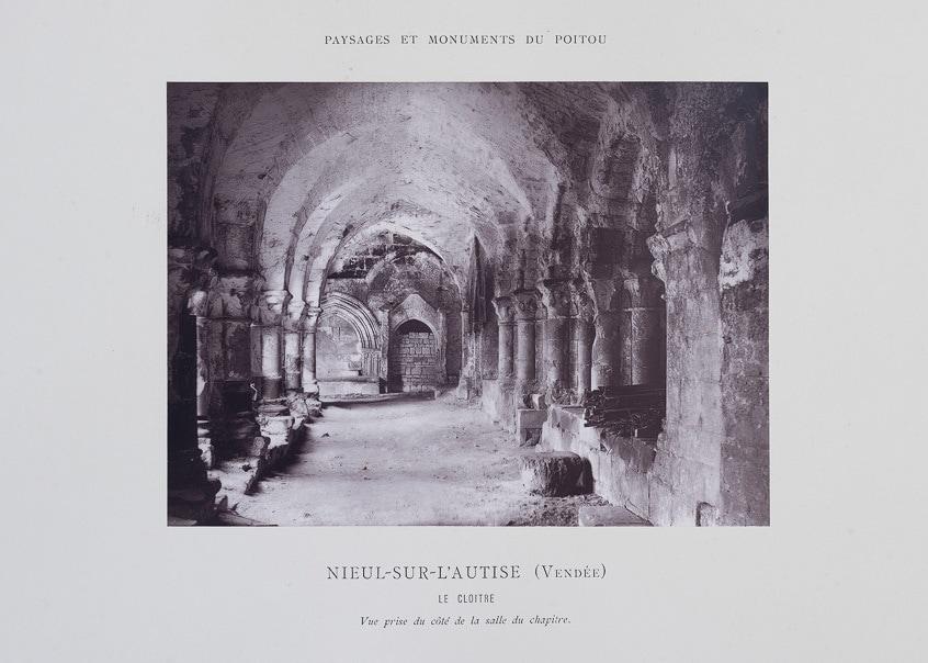 Photographie de Jules Robuchon représentant Nieul sur l'Autise