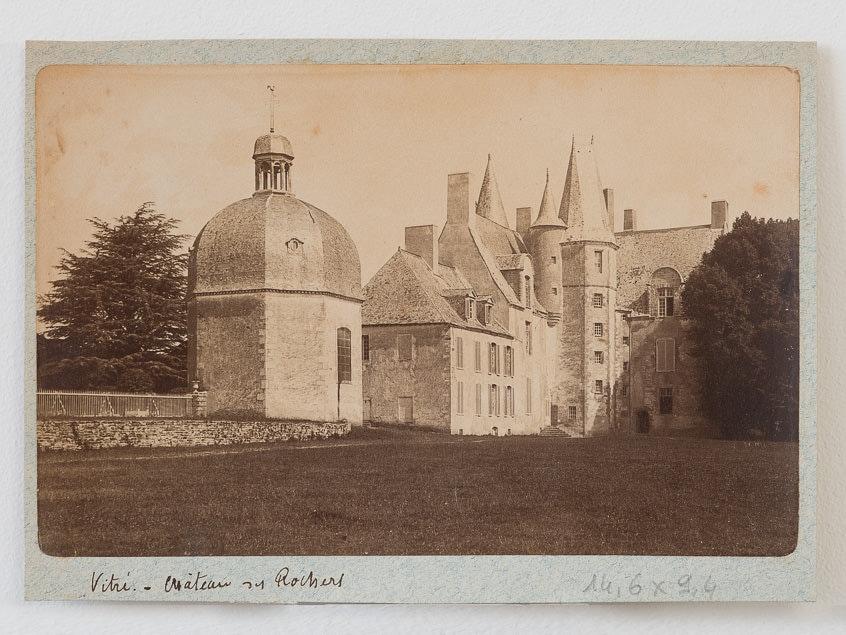 photographie ancienne. Chateau des Rochers. Vers 1880